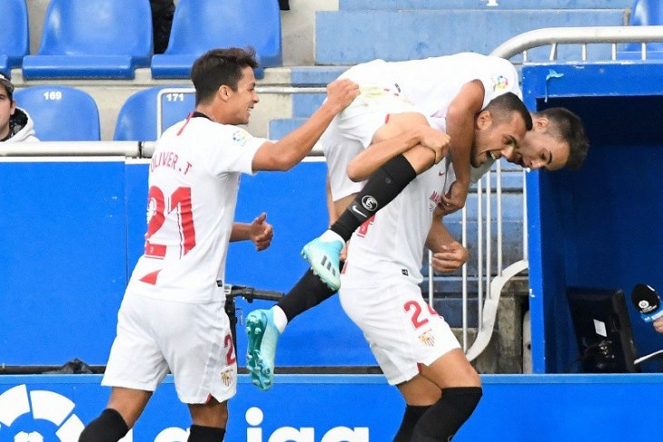 Sevilla mengambil alih posisi puncak klasemen Liga Spanyol