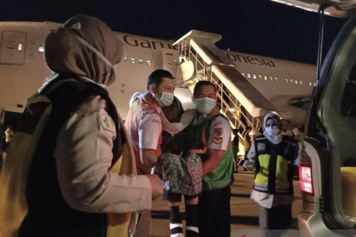 Pemulangan jamaah haji Aceh  berakhir