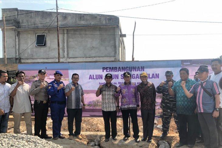 Pemkab Bangka Tengah bangun alun-alun di Kecamatan Sungaiselan