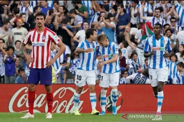 Atletico Madrid telan kekalahan perdana di markas Sociedad