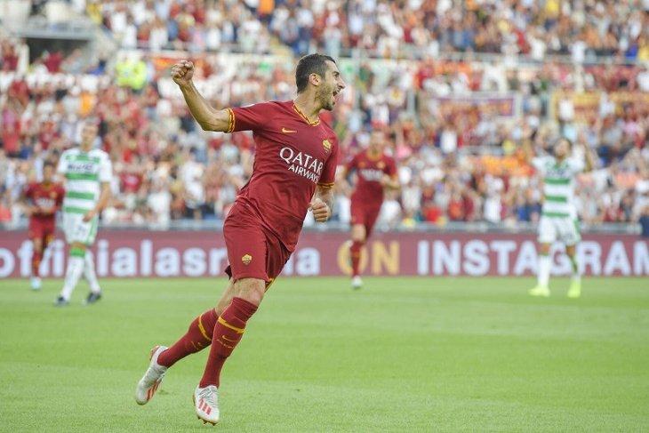 Hasil Liga Italia, Mkhitaryan cetak gol bantu Roma raih kemenangan perdana