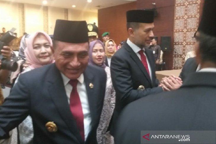 Gubernur: Anggota DPRD Sumut harus perhatikan kepentingan rakyat