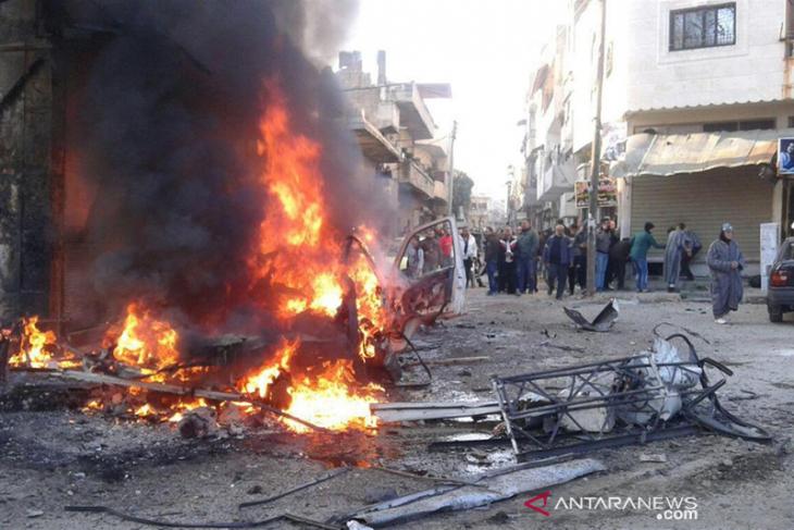 Bom mobil meledak di penjara tahanan ISIS Suriah