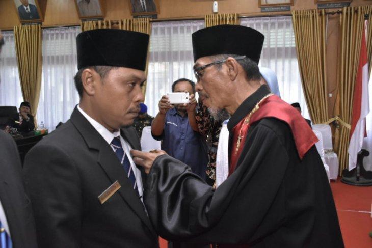 25 Anggota DPRD Kota Tebing Tinggi priode 2019-2024 dilantik