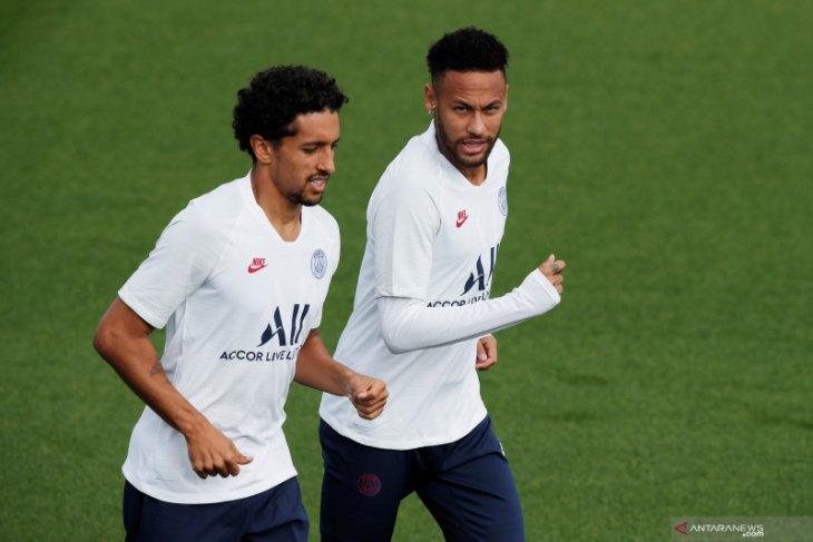 Liga Prancis - Bek tengah Marquinhos perpanjang kontrak bersama PSG hingga 2024