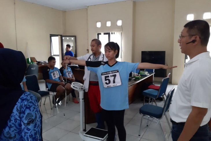 Tingkatkan potensi atlet, Dispora Banten uji coba