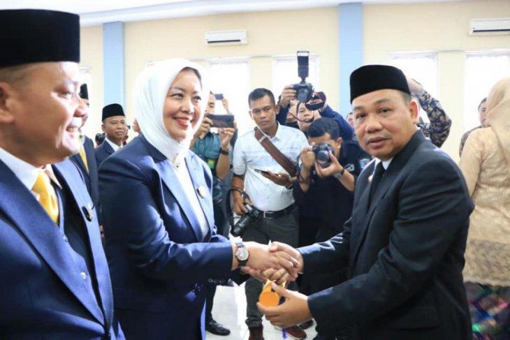 Wali kota Binjai ucapkan selamat kepada 30 anggota DPRD