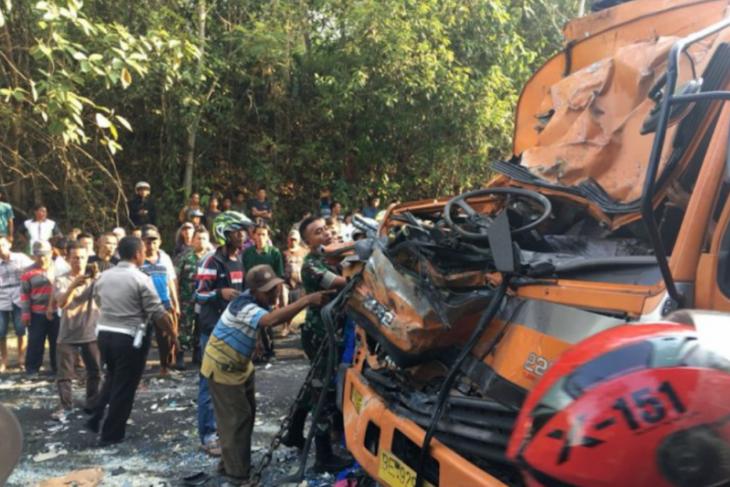 Kecelakaan maut di Lampung, delapan meninggal dunia