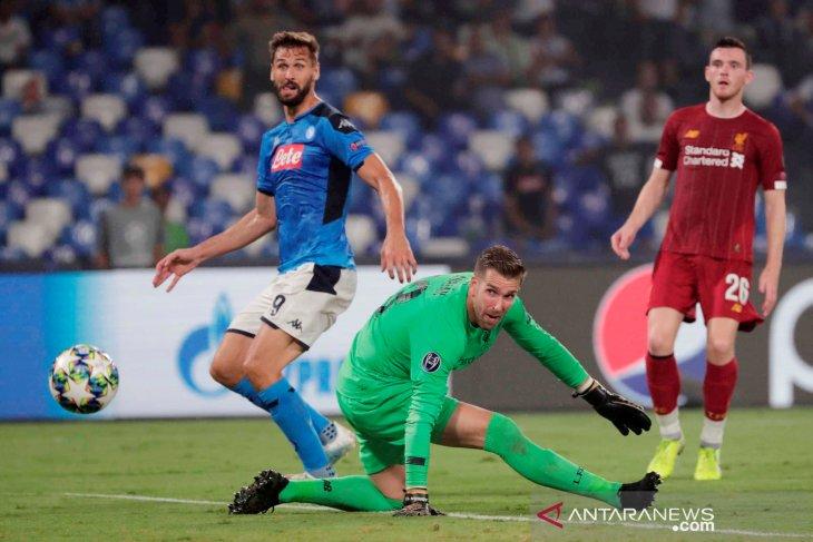 Llorente tuntaskan misi balas dendam antar Napoli tundukkan Liverpool