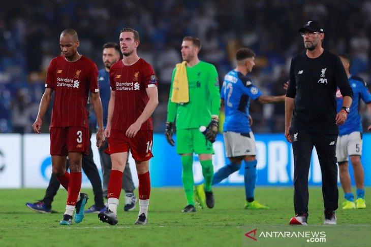 Hasil Liga Champions, juara bertahan Liverpool awali dengan kekalahan
