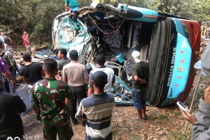 Sopir Bus Rosalia Indah ditetapkan tersangka kecelakaan maut Way Kanan
