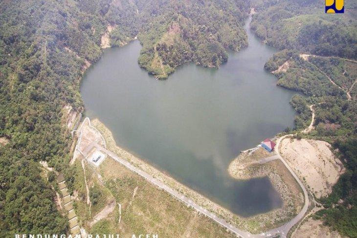 Bendungan Lomaya-Gorontalo kembali beroperasi