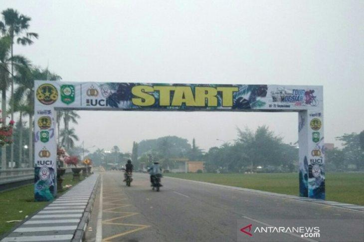 Tiga tim batal ikut Tour de Siak karena bencana kabut asap