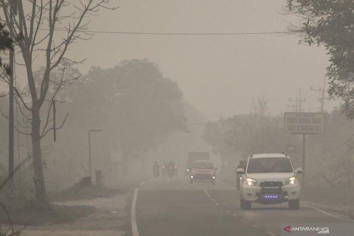 Dinkes Penajam nyatakan belum ada laporan ISPA dampak kabut asap