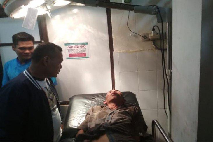 Polisi tembak kaki pencuri di kantor KPU