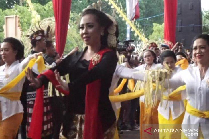 Umat Hindu tampilkan ragam kesenian Nusantara
