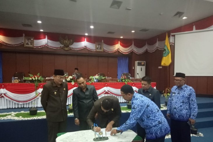 DPRD Belitung sahkan tiga Raperda disisa akhir jabatan