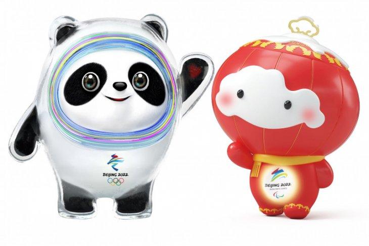 Panda, maskot Olimpiade Musim Dingin 2022 di China