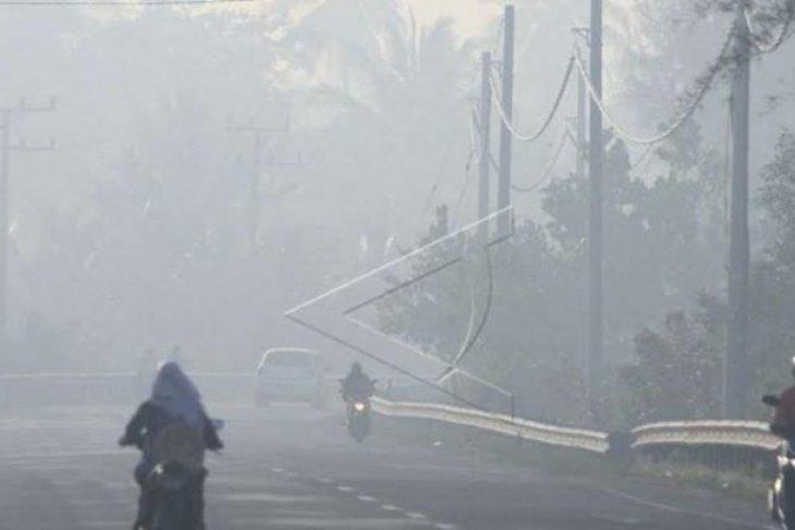 BMKG: Asap kebakaran hutan mulai selimuti  Aceh