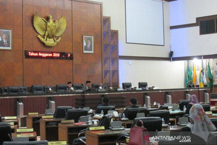 DPRA setujui pengesahan APBA Perubahan  2019