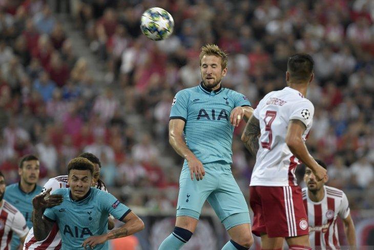 Olympiakos bangkit dari ketertinggalan dua gol, Spurs gagal menang