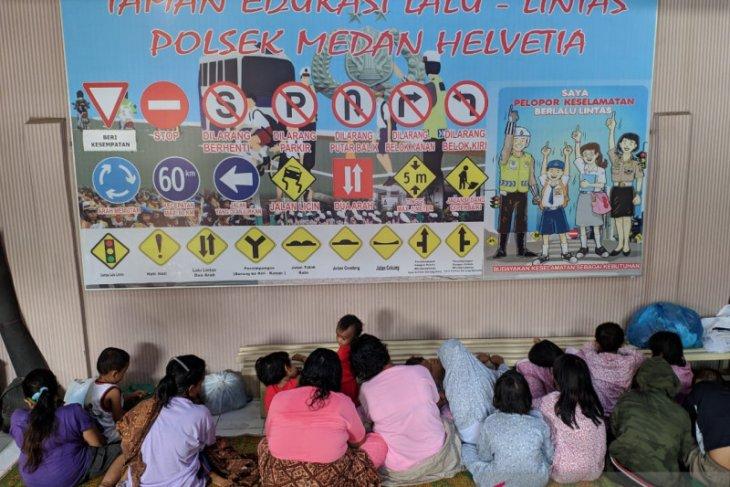 Polisi di Medan bongkar kasus eksploitasi anak yang dijadikan pengemis