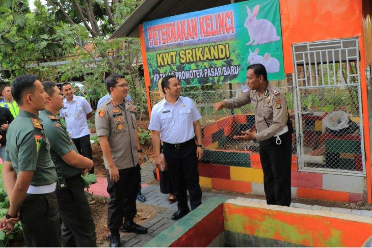 Kampung Talas Kota Tangerang  jadi pelopor  Kampung Tertib Lalu Lintas di Indonesia