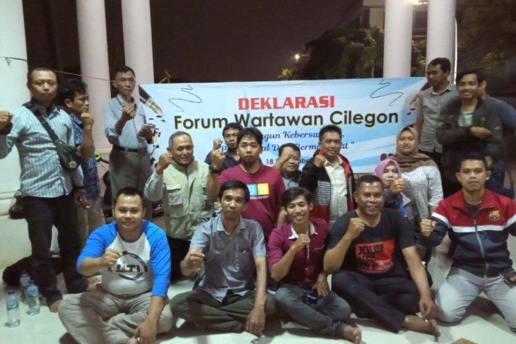 Forum Wartawan Cilegon resmi berdiri