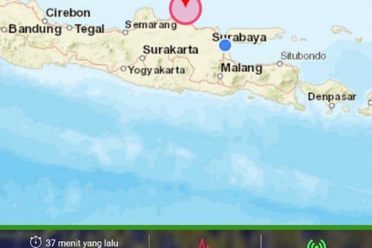Gempa susulan 6,0 SR kembali guncang Tuban