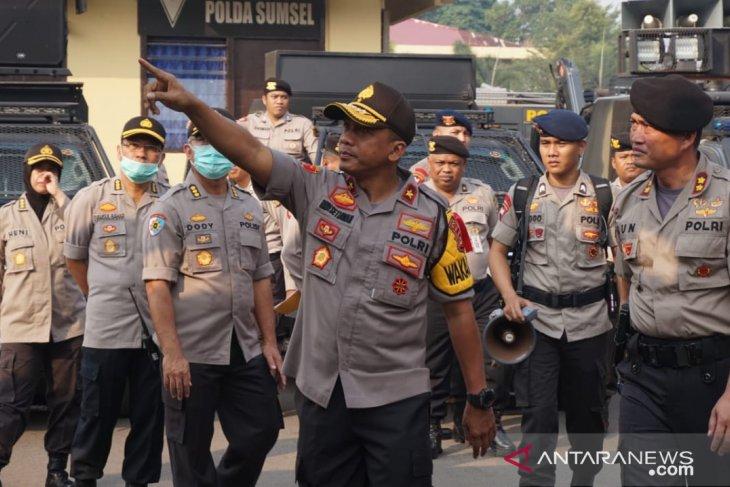 17 orang ditetapkan sebagai tersangka karhutla di Sumatera Selatan