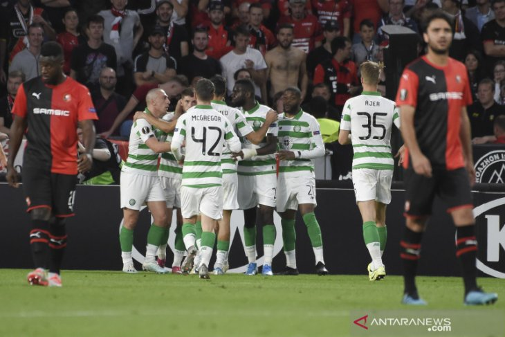 Penalti Christie bawa satu poin bagi Celtic dari markas Rennes