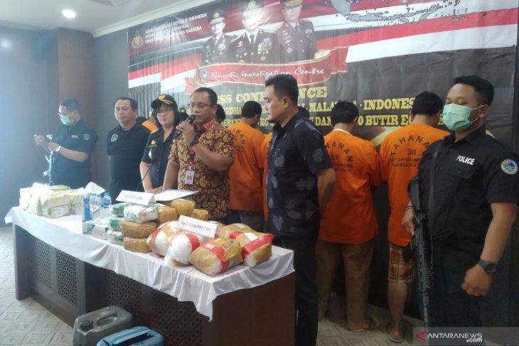 Bareskrim sita 38 kilogram sabu Malaysia yang diselundupkan via laut