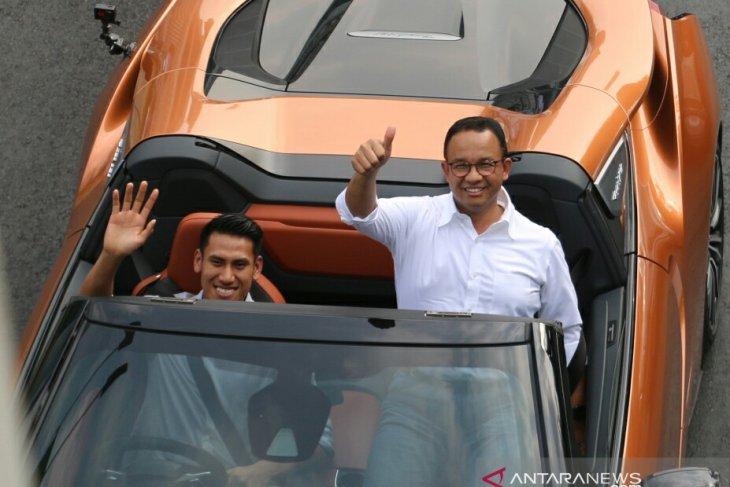 Jalur Formula E tahun 2020 di Kawasan Monas Jakarta