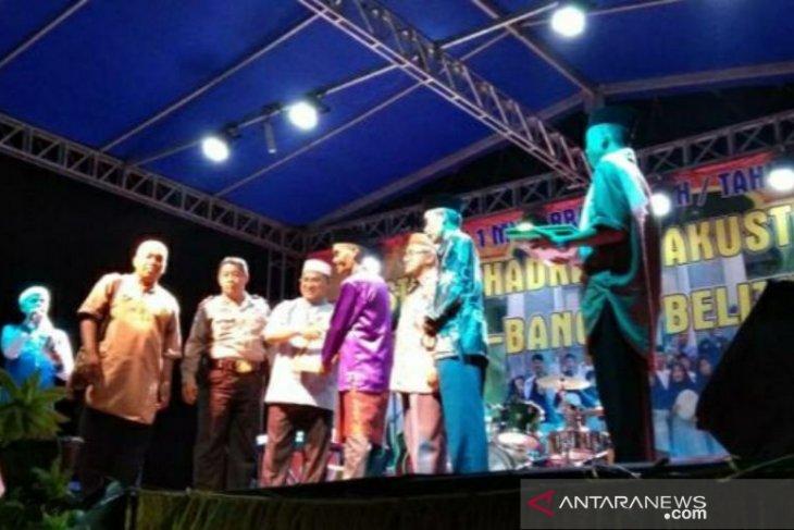 Gubernur Babel apresiasi festival hadrah dan akustik