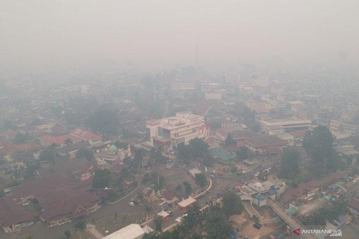 Pemkot Jambi perpanjang libur sekolah terkait kabut asap
