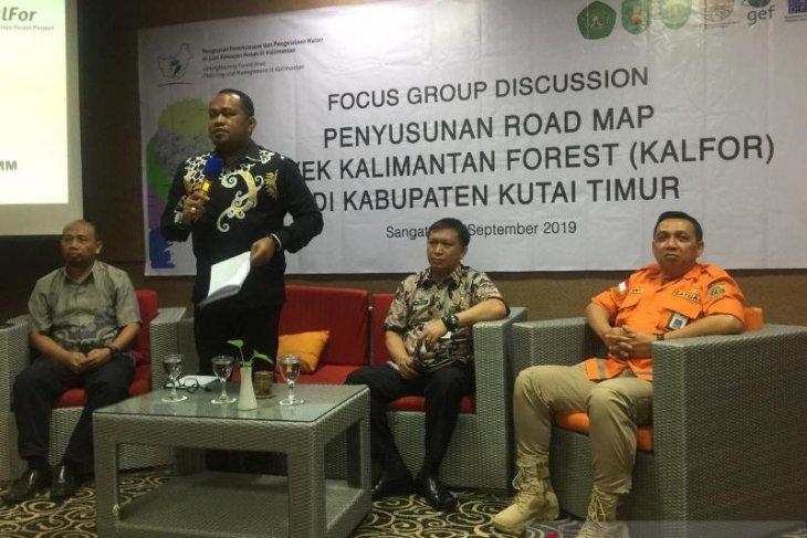Kutim Gelar FGD Susun Proyek Kalimantan Forest