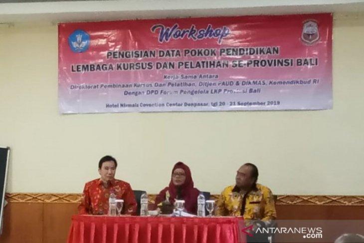 Forum LKP Bali adakan lokakarya pengisian data pokok berbasis