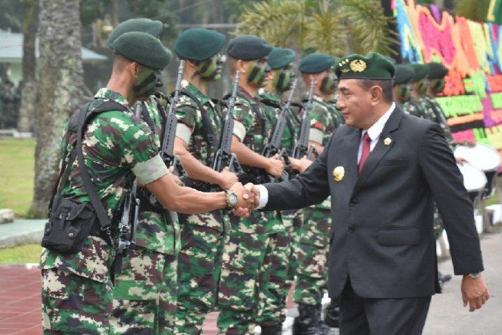 Gubernur Sumut sebut sangat berkesan semasa berada di Linud 100/PS