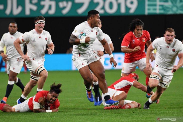 Inggris tampil dominan untuk atasi Tonga Piala Dunia Rugby