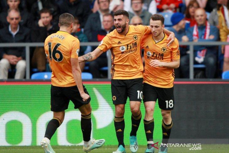 Gol menit akhir buyarkan kemenangan Crystal Palace atas Wolverhampton