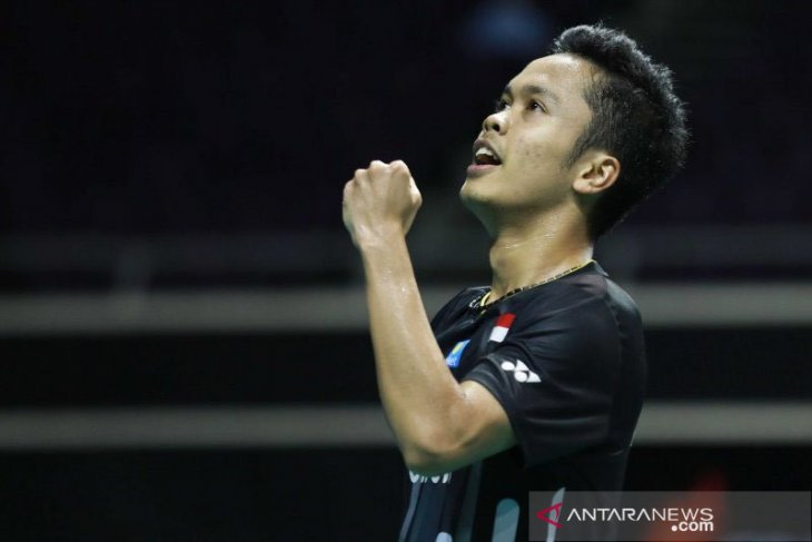 Anthony Ginting kalahkan Jojo di semifinal Hong Kong Open