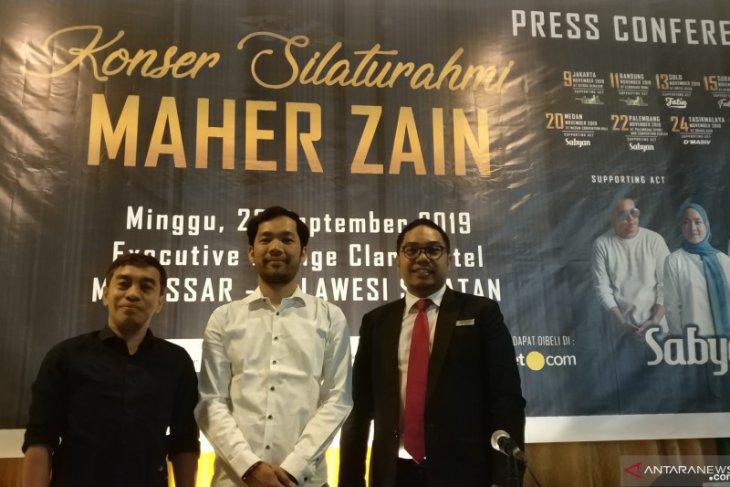 Maher Zain buat konser untuk korban bencana di Indonesia