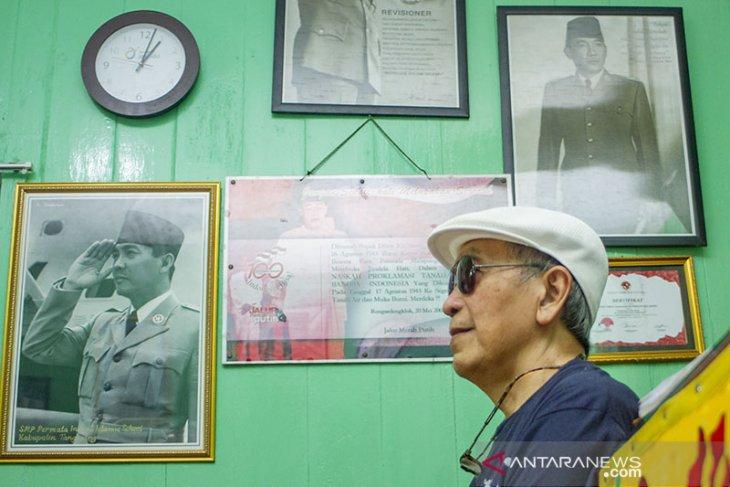 Kunjungan Putu Wijaya Di Rumah Persinggahan Soekarno Hatta