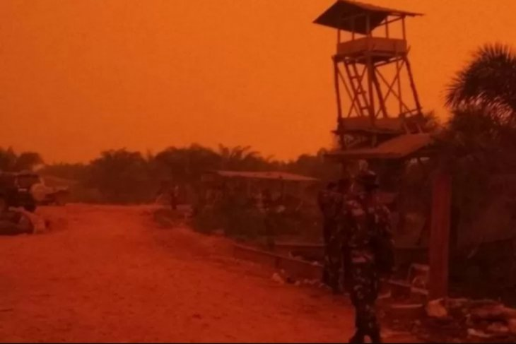 Indonesian forest fire chokes millions of people, animals