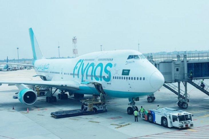 Maskapai Flynas mulai beroperasi di Terminal 3 Soekarno-Hatta, Minggu