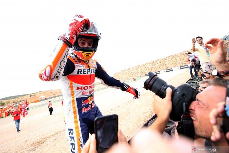 Marquez berpeluang kunci gelar  keenam di Thailand
