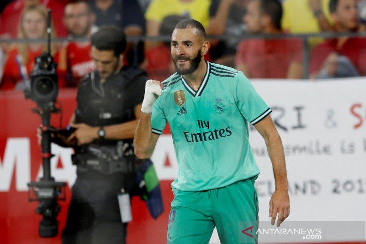 Liga Spanyol, Karim Benzema menangkan Real Madrid atas Sevilla
