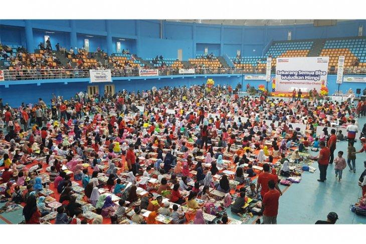 Alfamart dan Susu Bendera Gelar Kompetisi Mewarnai Anak di Bogor