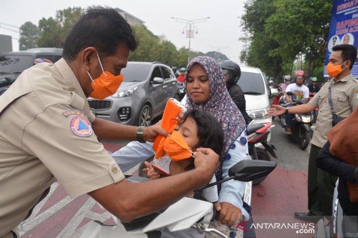 Akibat kabut asap, Pemkot Banda Aceh imbau warga kurangi aktivitas di luar ruang