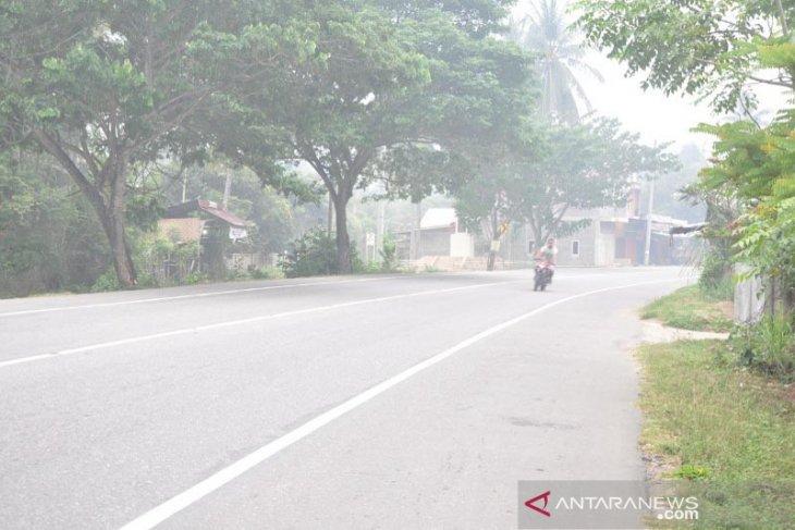 Aceh Timur diselimuti kabut asap